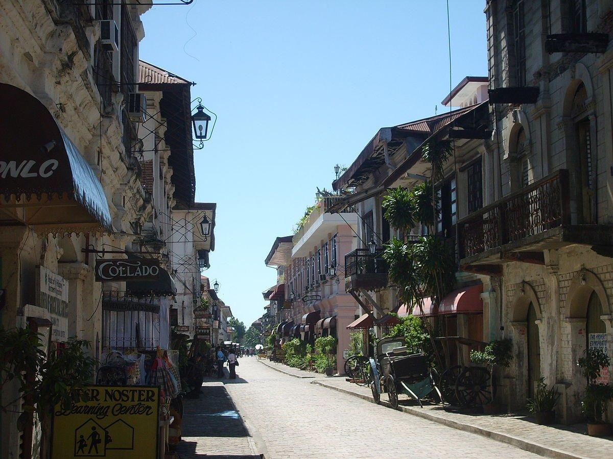Philippinen Vigan Calle Crisologo