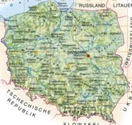 Polen Karten