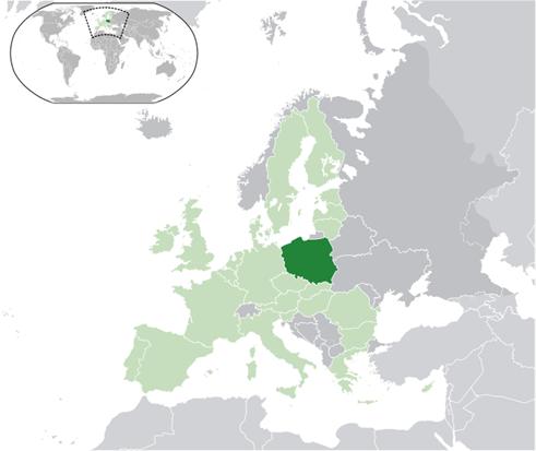 Polen Lage