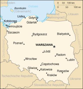 Polen Nachbarstaaten