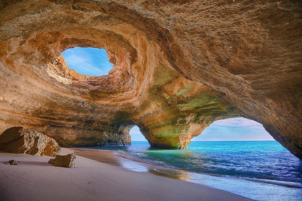 Portugal Algarve Benagil Höle