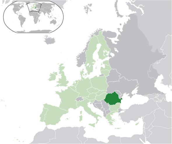 Rumänien Lage