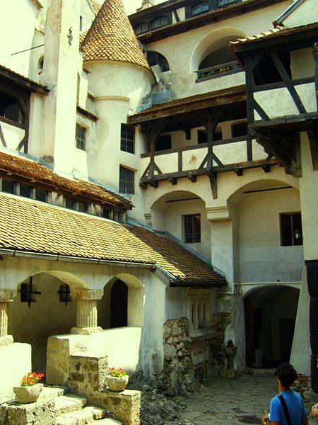Im Schloss Bran