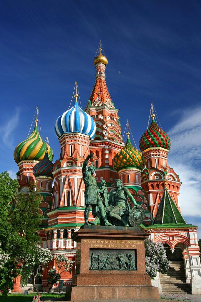 Russland - Moskau - Basilius Kathedrale