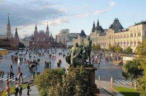 Russland Moskau Roter Platz