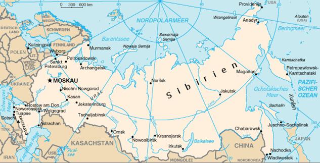 Russland Nachbarländer