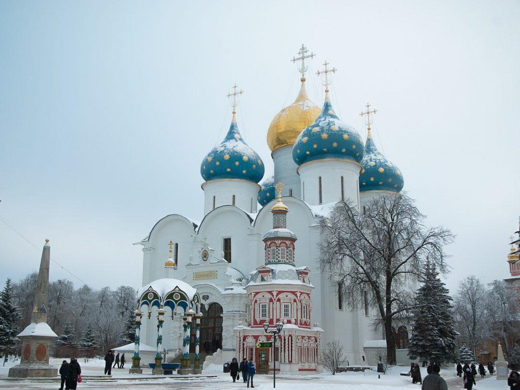 Russland - Sergijew Posad Kloster