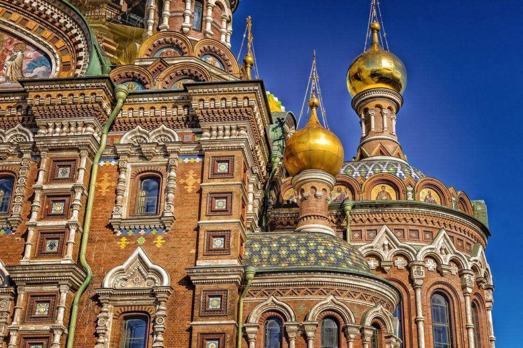 Russland - St. Petersburg - Aufersteherkirche