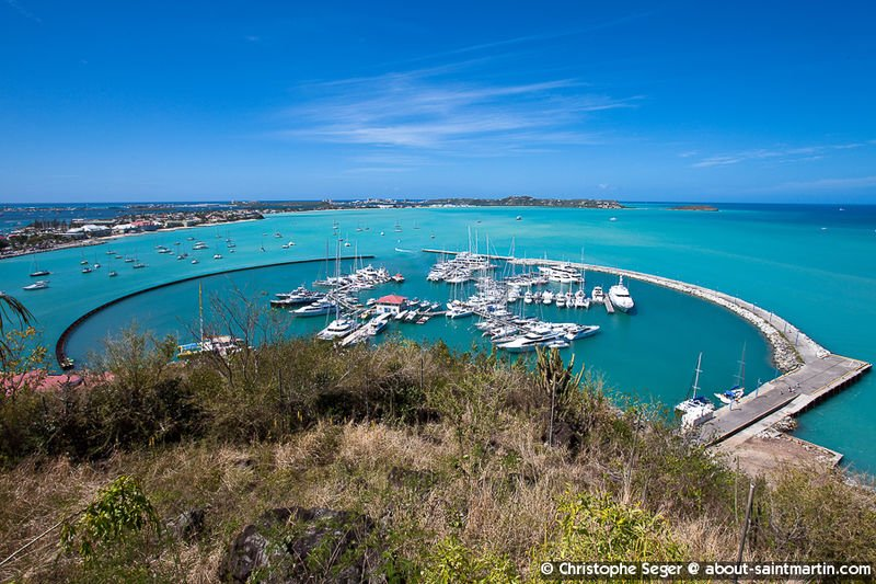 Saint Martin Marina Fort Louis