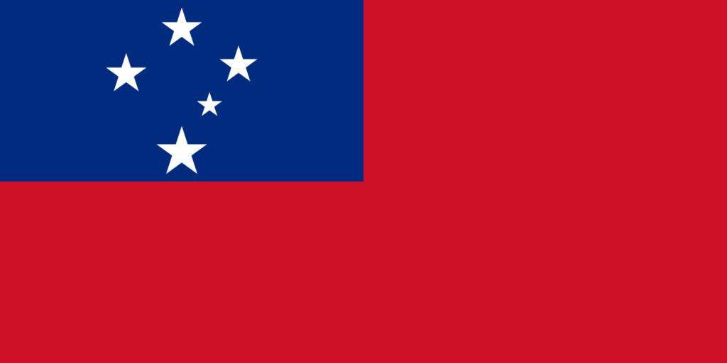 Samoa-Flagge