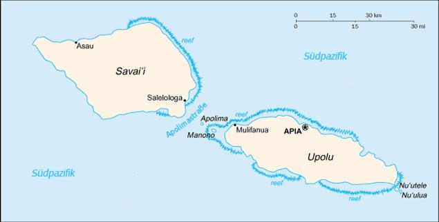 Samoa Inseln