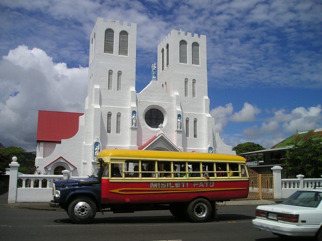 Samoa - Kirche