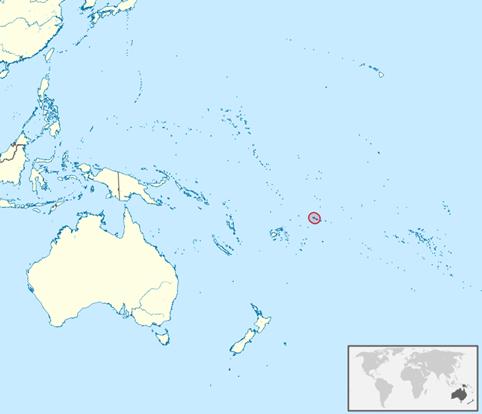 Samoa Lage