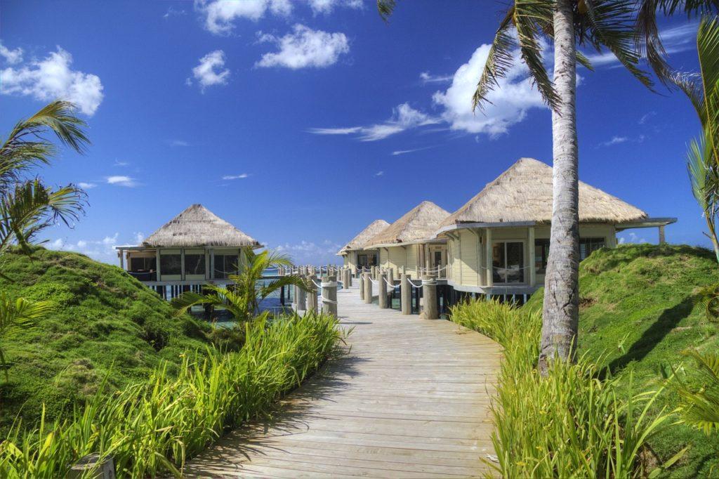 Samoa - Strandhuetten