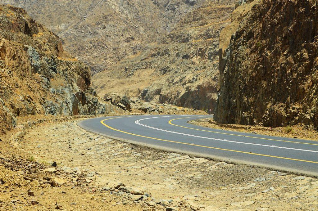 Saudi Arabien - Berge