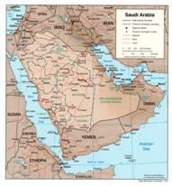 Saudi-Arabien Karten