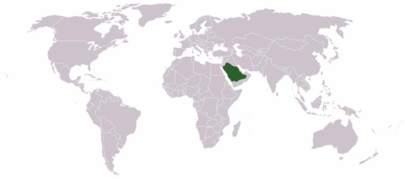 Saudi-Arabien Lage