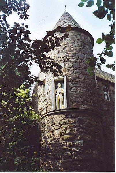 Schottland Aberdeen Seaton Park Wallace Tower
