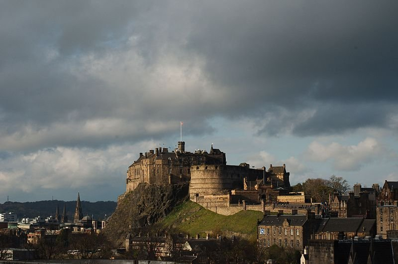 Schottland Edinburgh Castle