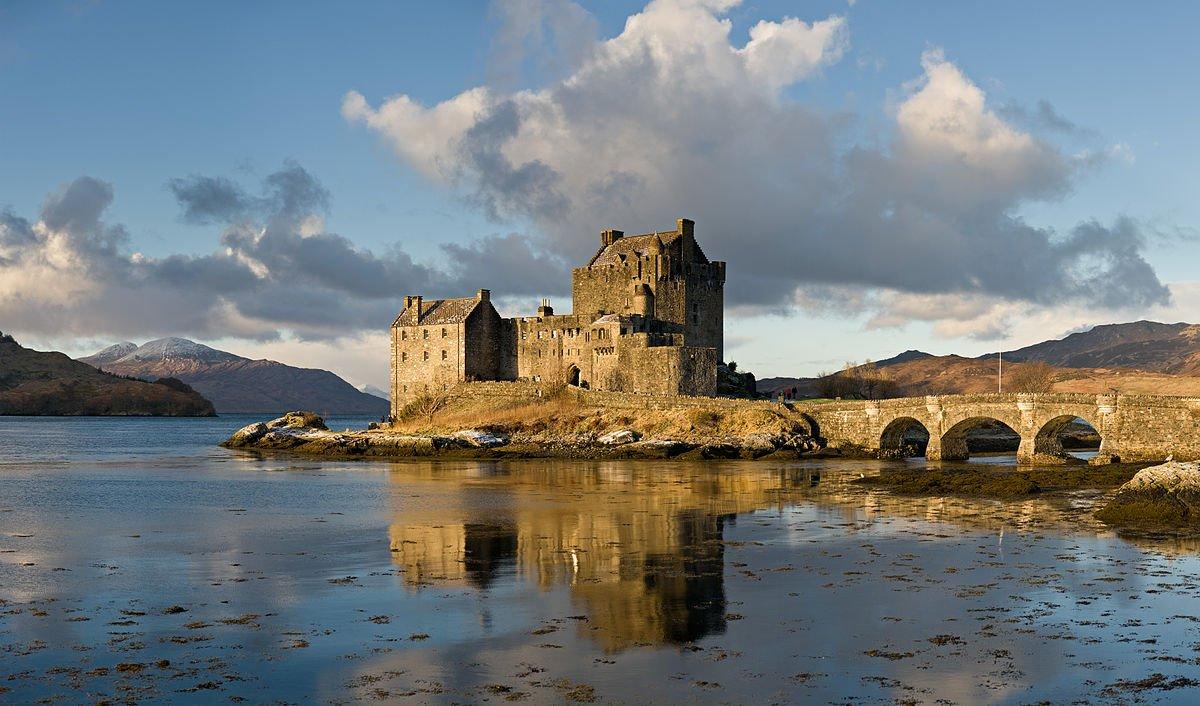 Schottland Eilean Donan Castlel