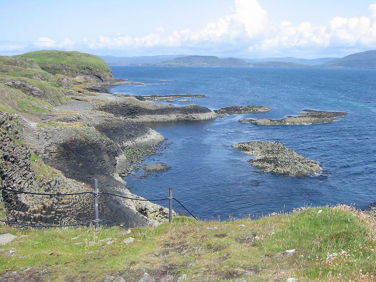 Schottland Insel Staffa