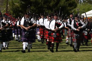 Schottland Kern County Scottish Gathering