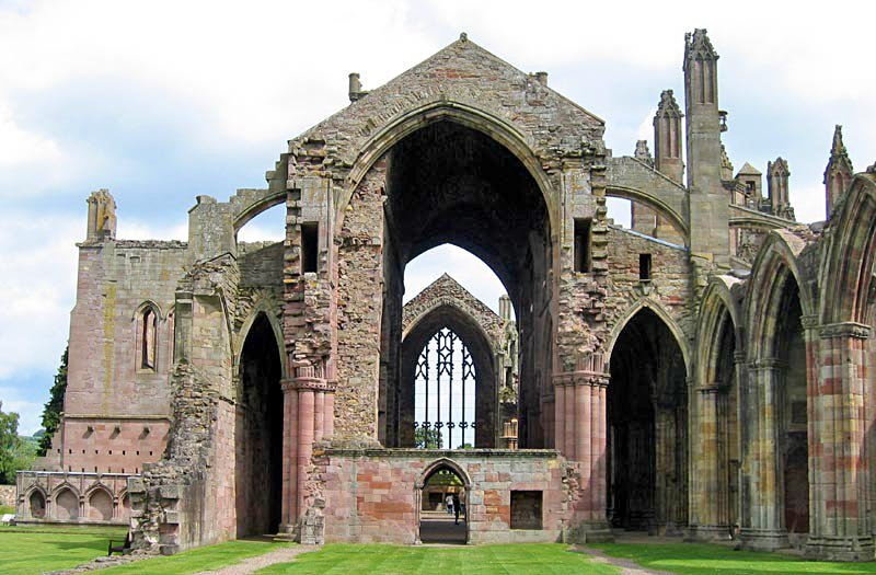 Schottland Melrose Melrose Abbey