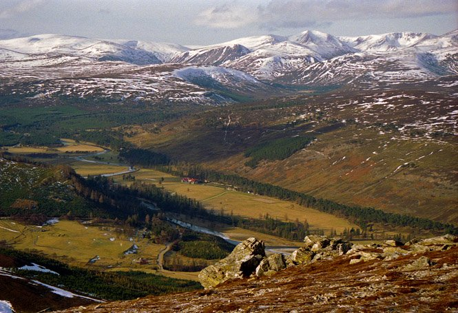 Schottland The Cairngorms
