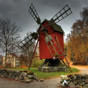 Schweden - Hassleholm - Windmühle