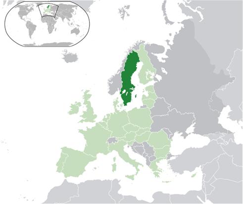 Schweden Lage