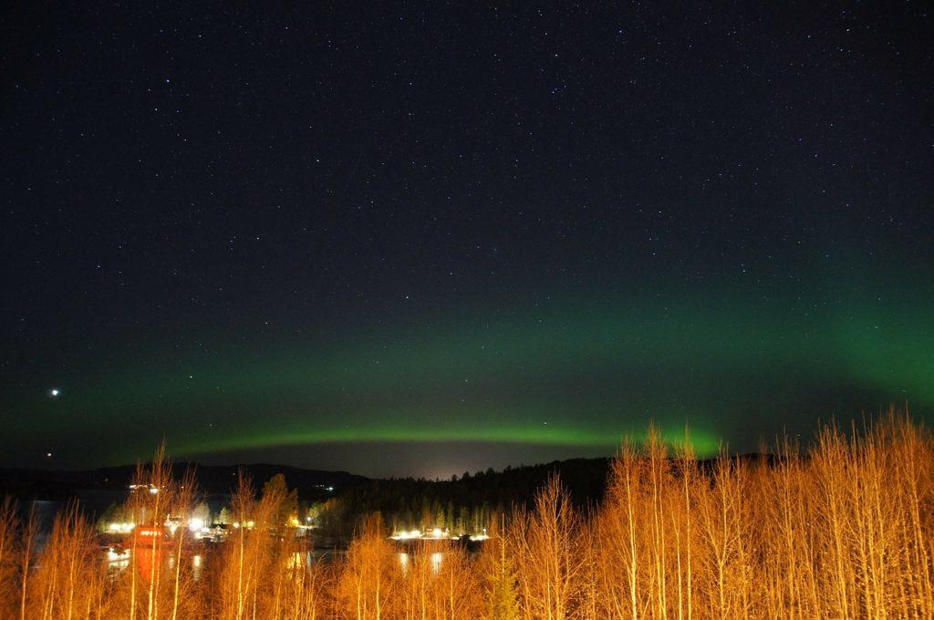 Schweden - Nordlicht