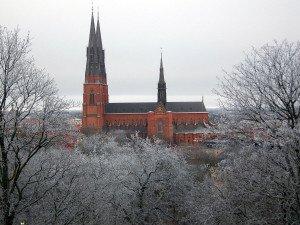 Schweden Uppsala Kathedrale