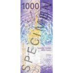 Rückseite - 1000 CHF