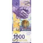Vorderseite - 1000 CHF