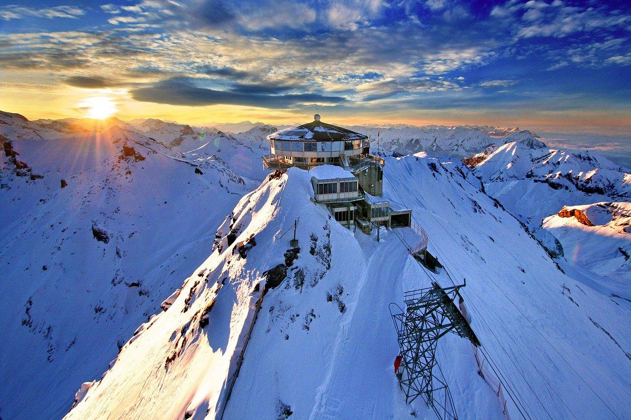 Schweiz - Schilthorn - Bergstation