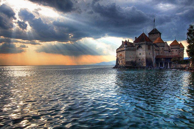 Schweiz Schloss Chillon