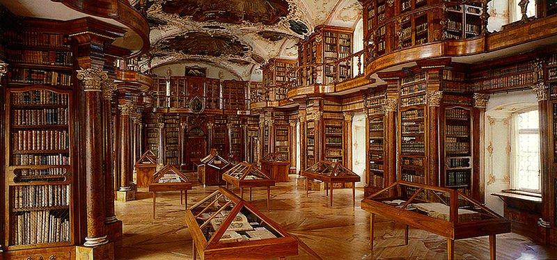 Schweiz St.Gallen Stiftsbibliothek