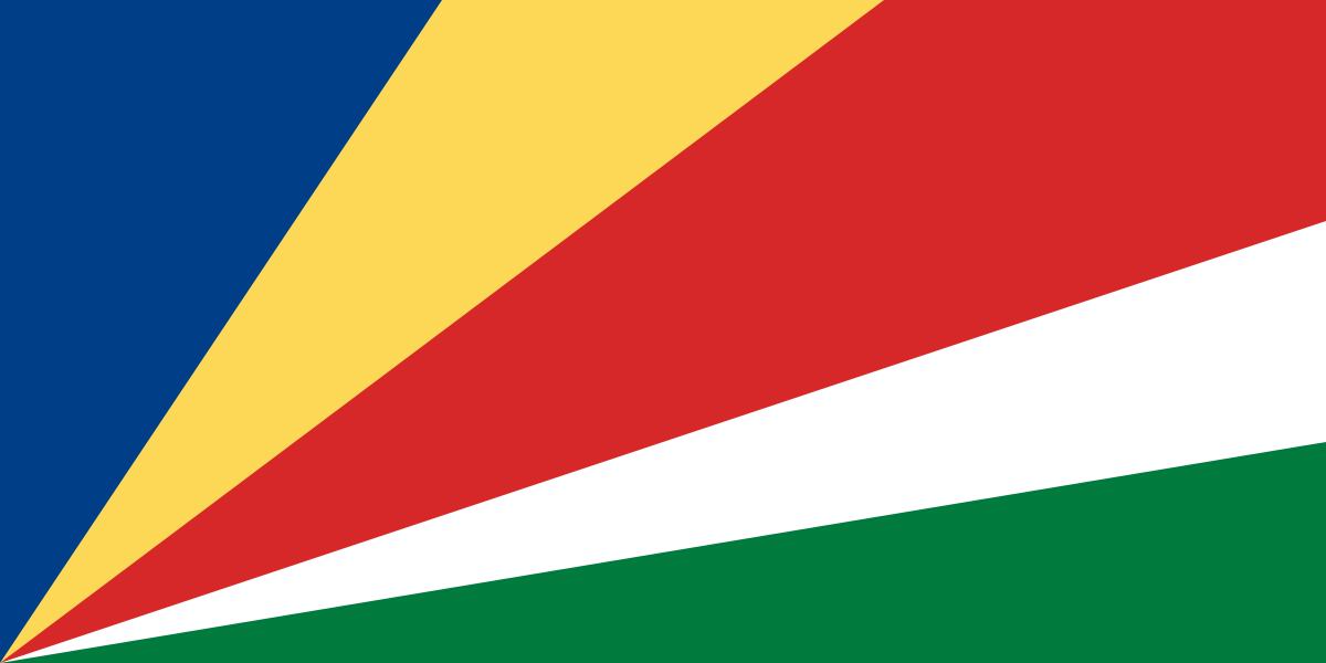 Seychellen-Flagge