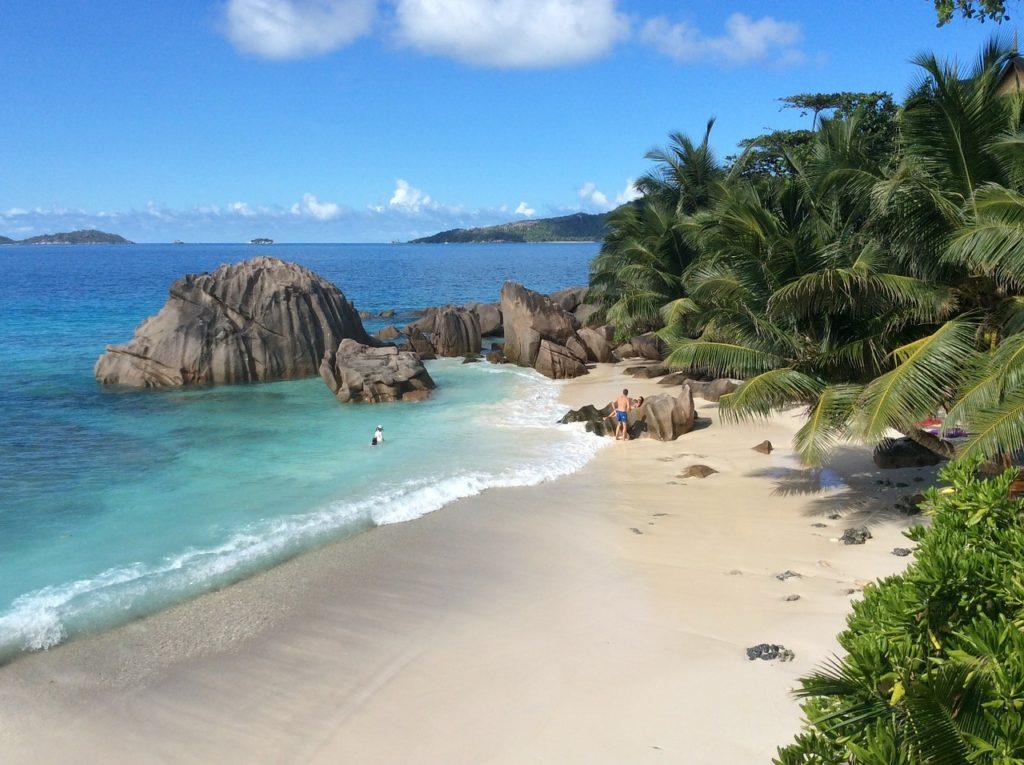 Seychellen - La Digue - Strand
