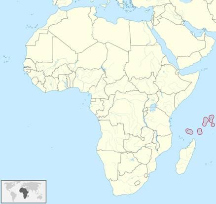 Seychellen Lage