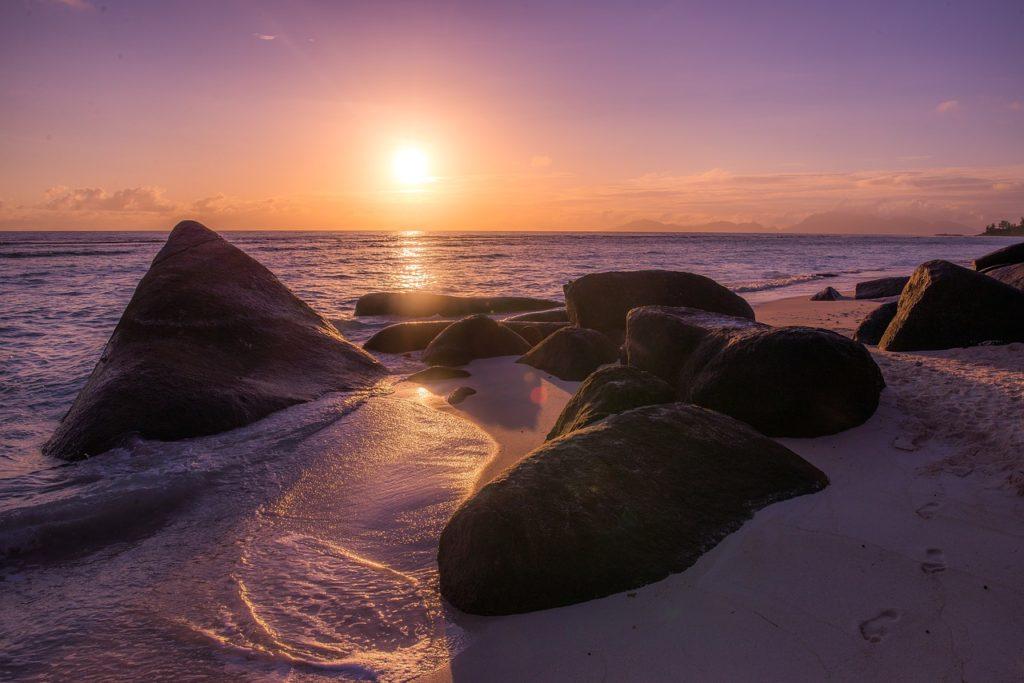 Seychellen - Sonnenaufgang