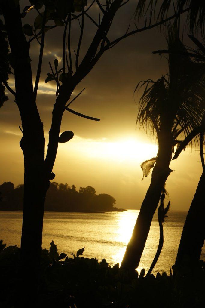 Seychellen - Sonnenuntergang