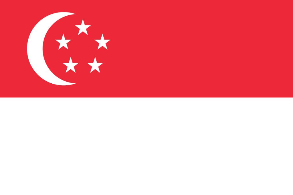 Singapur-Flagge