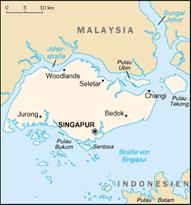 Singapur Karten
