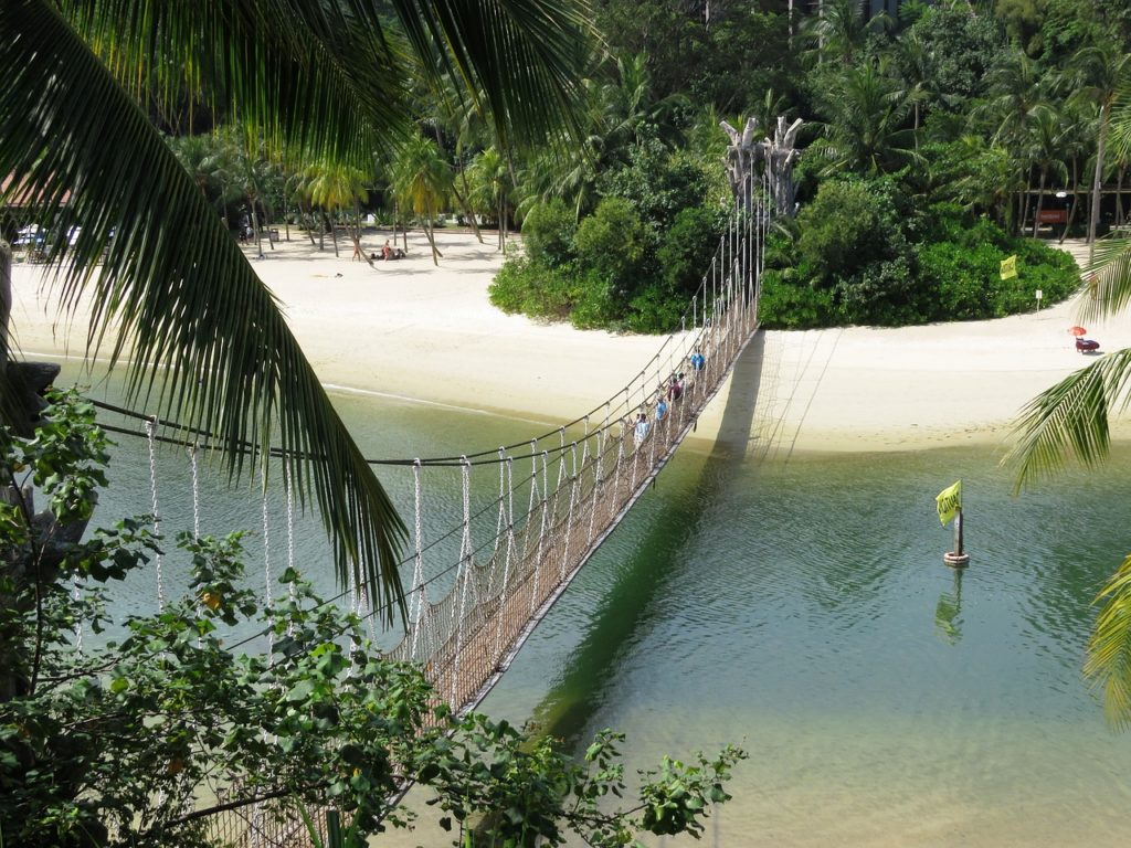 Singapur - Sentosa Beach