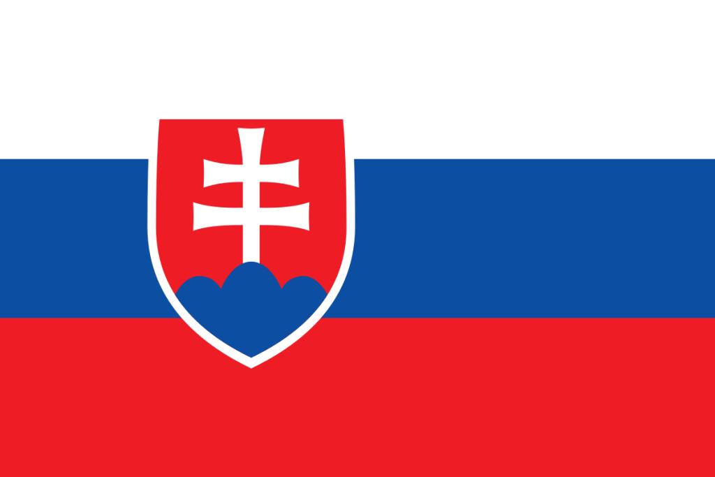 Slowakei-Flagge