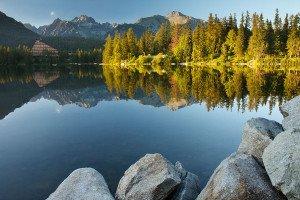 Slowakei Hohe Tatra Tschirmer See