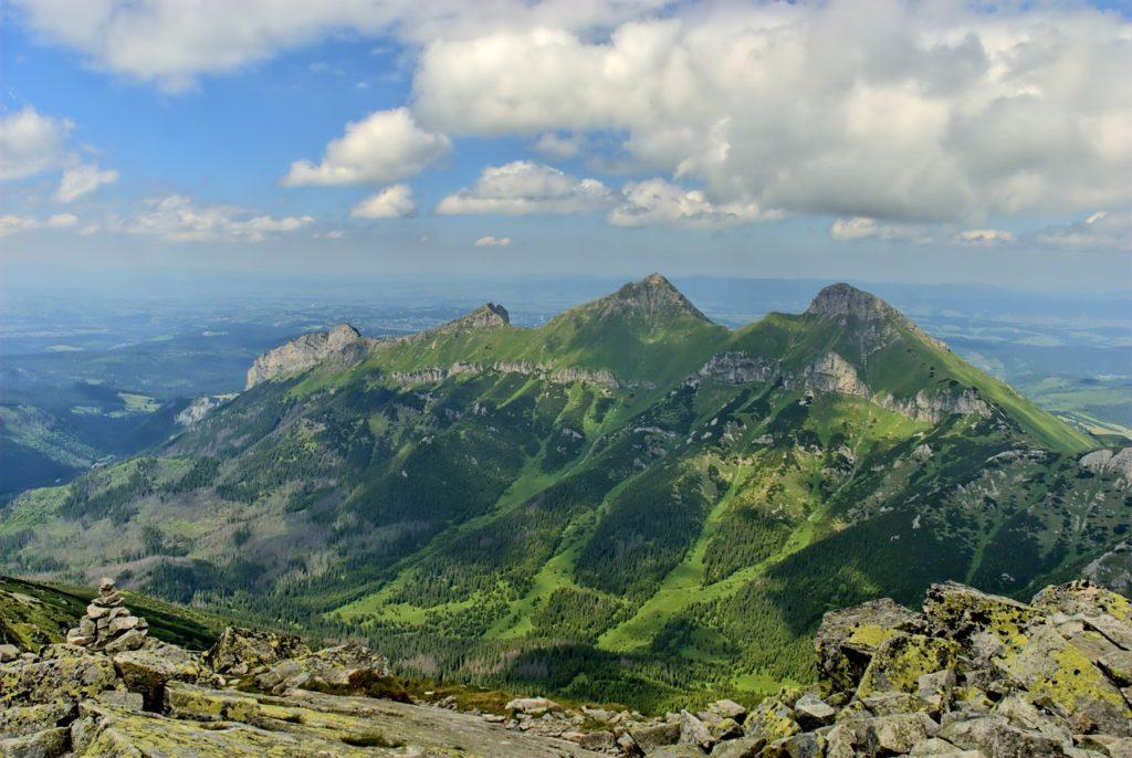 Slowakei - Tatra von oben