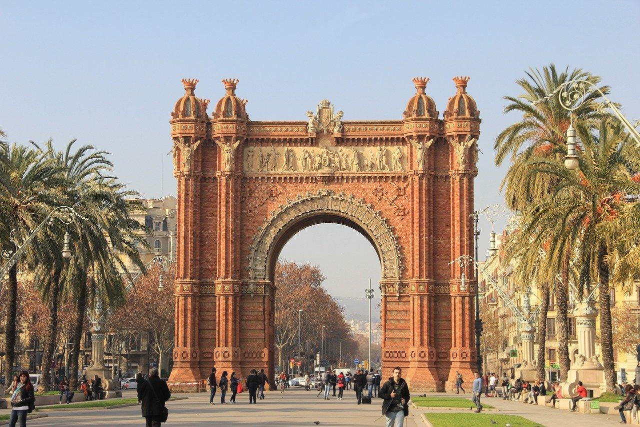 Spanien - Barcelona - Triumpfbogen