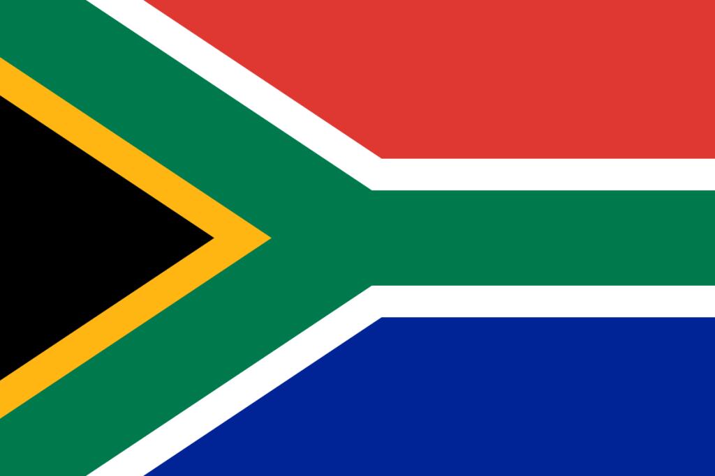Suedafrika-Flagge